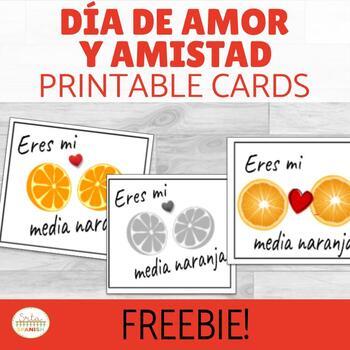 Spanish Valentine's Day Printable Freebie!