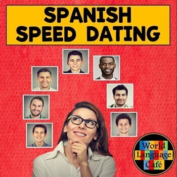 Spanish Speed Dating, Speaking Activity for Valentine's Day or Any Day