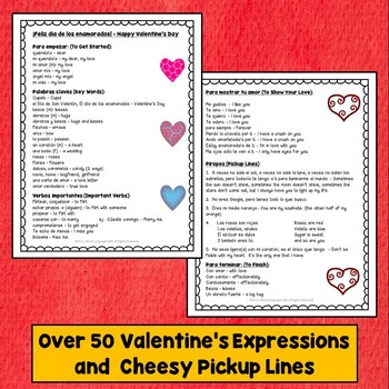 Spanish Valentine's Day Activities, San Valentín Fortune Teller, Cootie Catcher