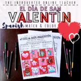 Spanish Valentine's Day/el Día De San Valentín Vocabulary