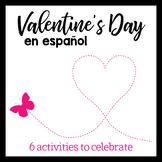 Spanish Valentine's Day stations - 6 actividades para el D