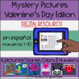 Digital Mystery Pictures Spanish Valentine's Mystery Pictu