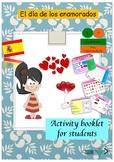 Spanish Valentine's day , día de San Valentine printable activities