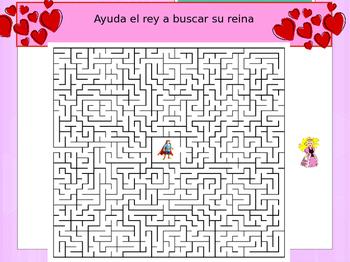 Spanish Valentine's day , día de San Valentine freebie