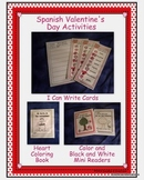 Spanish Valentine's Day Activities Set 1
