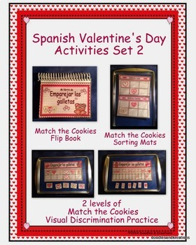 Spanish Valentine's Day Activities Set 2
