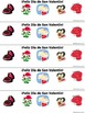 Spanish Valentine's Day Bookmarks - With and Without Vocabulary Words