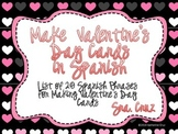 Spanish Valentine's Day Cards Activity