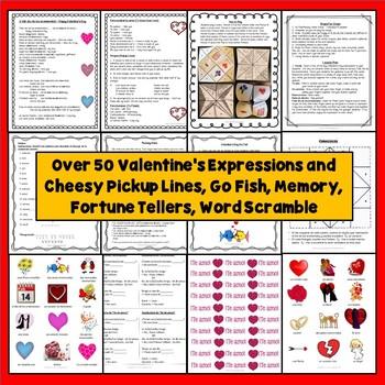 Spanish Valentine's Day Activities, Día de San Valentín Preschool, Elementary