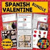 Spanish Valentine's Day Activities, Día de San Valentín Pr