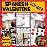 Spanish Valentine's Day Activities, Día de San Valentín Pr