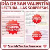 Spanish Valentine's Day Reading - Lectura del Día de los E