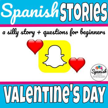Spanish Valentines Day Reading: Julieta ya tiene planes