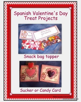 Spanish Valentine's Day Treat Projects