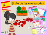 Spanish Valentine's day , día de San Valentine printable and powerpoint