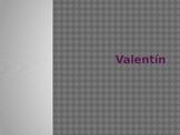 Spanish Valentín Movie Vocabulary powerpoint