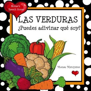 Spanish Vegetables Shadow ELL/ESL