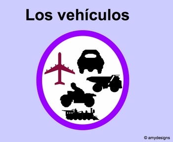 Spanish Vehicles Los vehiculos