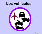 Spanish Vehicles Los vehiculos