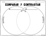 Spanish Venn Diagram Compare & Contrast Worksheet
