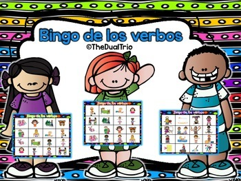 Spanish Verb BINGO-Verbos