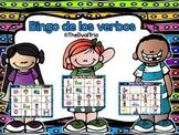 Spanish Verb BINGO-Verbos