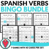 Spanish Verb Bingo Bundle