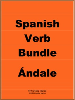 Spanish Verb Bundle Ándale
