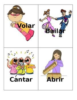 Spanish Verb Cards