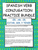 Spanish Verb Conjugation BUNDLE
