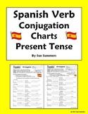 Spanish Verb Conjugation Charts - Present Tense