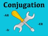 Spanish Verb Conjugation ActiveInspire Flipchart