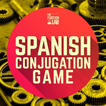 Spanish Verb Conjugation Game - 36 Present Tense Verbs wit