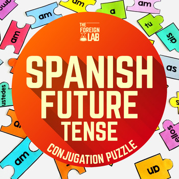 Spanish Verb Conjugation Puzzle – FUTURO SIMPLE