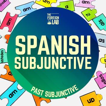 Spanish Verb Conjugation Puzzle – SUBJUNTIVO PRETÉRITO