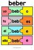 Spanish Verb Conjugation Puzzles - PRESENT TENSE