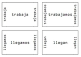 Spanish Verb Conjugation Review Spoons Game