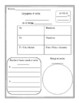 Spanish Verb Conjugation Template