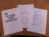 Spanish Verb Exercises - 44 pages