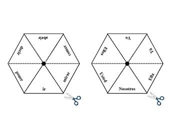 Spanish Preterite (Regular & Irregular) Activity for Pairs or Groups