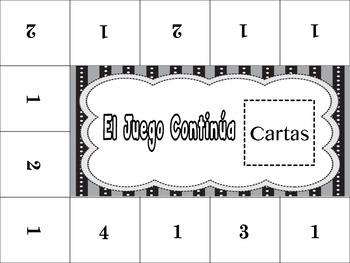 Spanish Stem-Change Verbs (o-ue, u-ue,e-ie, e-i) Activity for Groups