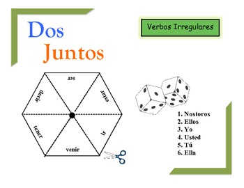 Spanish Irregular Verbs Practice Activity (Pairs or Groups)