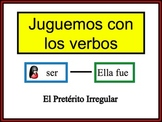 Spanish Preterite (Irregular) Writing Activity, Powerpoint