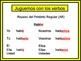 Spanish Preterite (Irregular & Regular) Writing Activity, Powerpoint