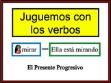 Spanish Present Progressive Writing Activity, Powerpoint
