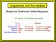Spanish Conditional (Regular) Writing Activity, Powerpoint