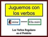 Spanish Preterite (Regular) Writing Activity, Powerpoint