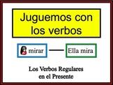 Spanish Regular Verbs (AR, ER, IR) Writing Activity, Powerpoint