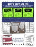 Spanish Reflexive and Past Tense Verb Games Bundle!