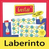 Spanish Verb Gustar – Maze Practice Activity with Digital Version